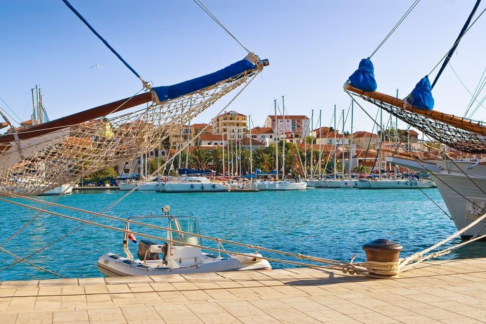 Trogir - přístav
