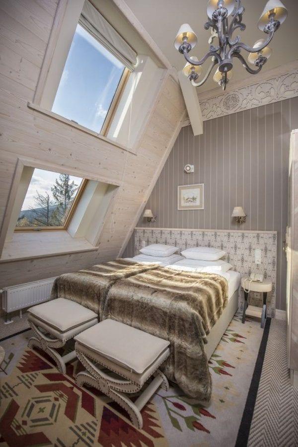 Pokoj v hotelu Aries v Poslku, Zakopané