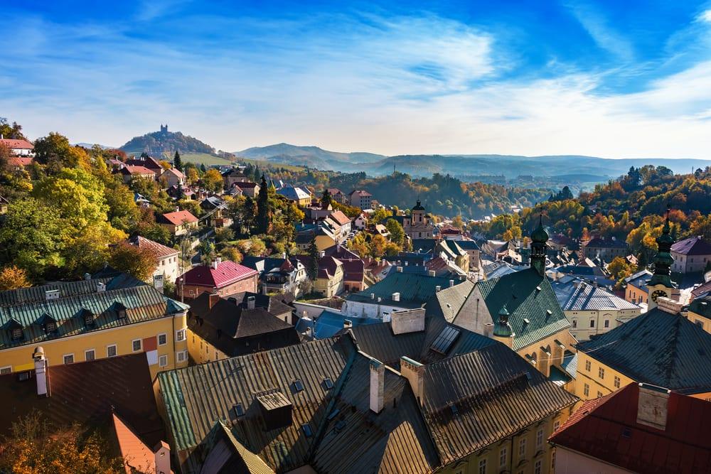 Banská Štiavnica na Slovensku