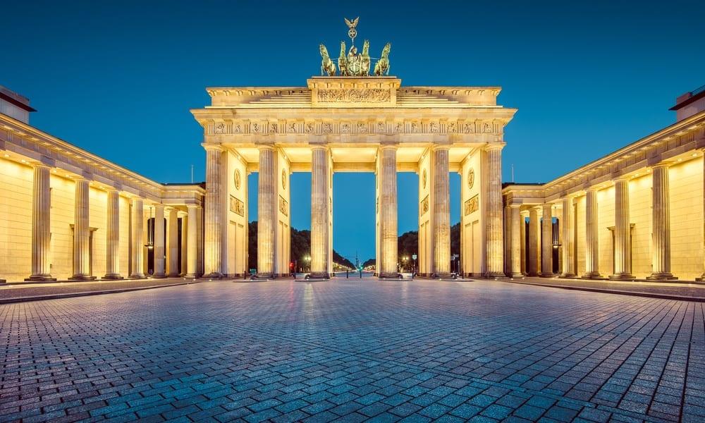 Berlínská Braniborská brána