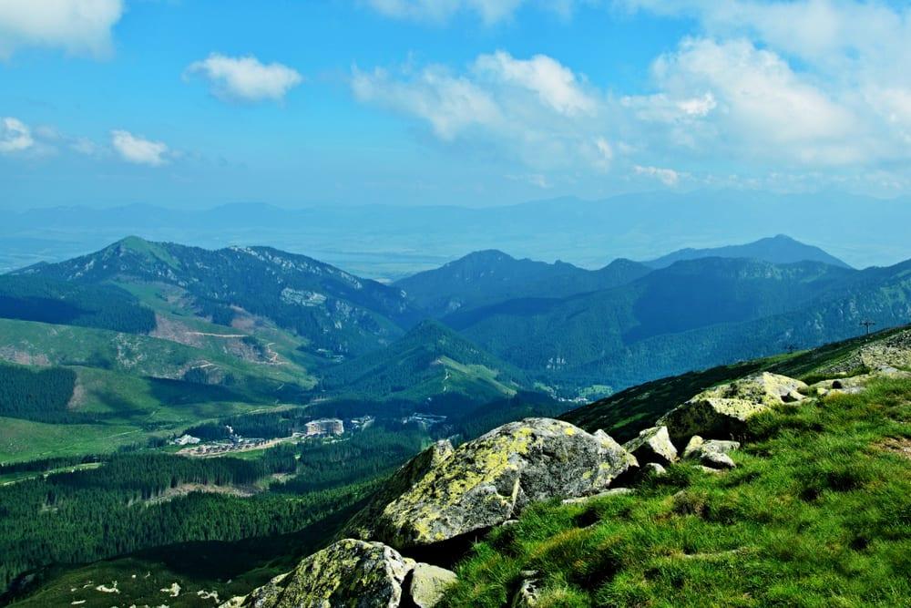 Demanovská dolina v Nízkých Tatrách, jedno z nejkrásnějších míst na Slovensku