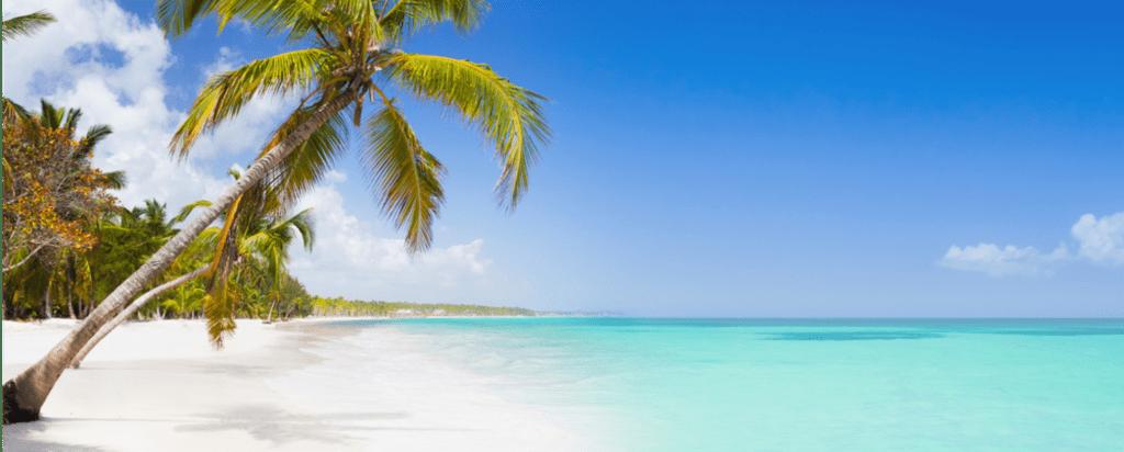 Pláž v Dominikánské republice