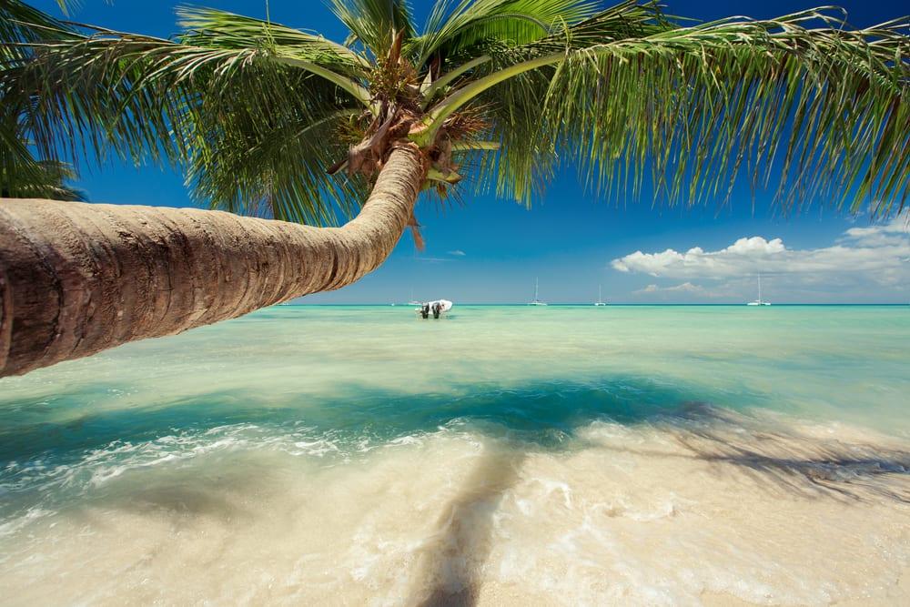 Pláž na Dominikánské republice