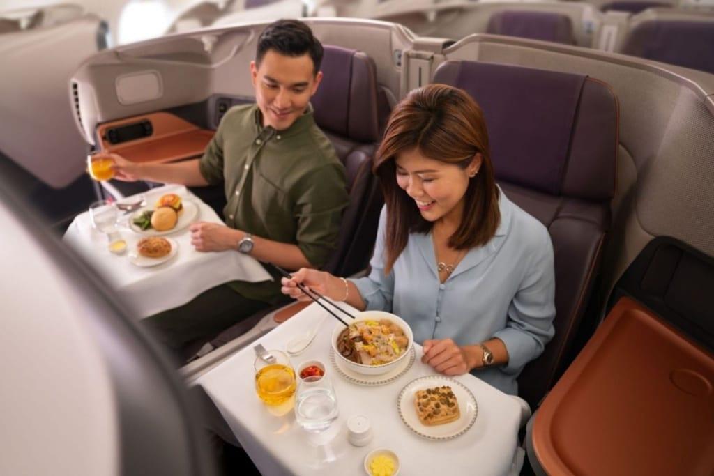 Restaurace v Airbusub A380