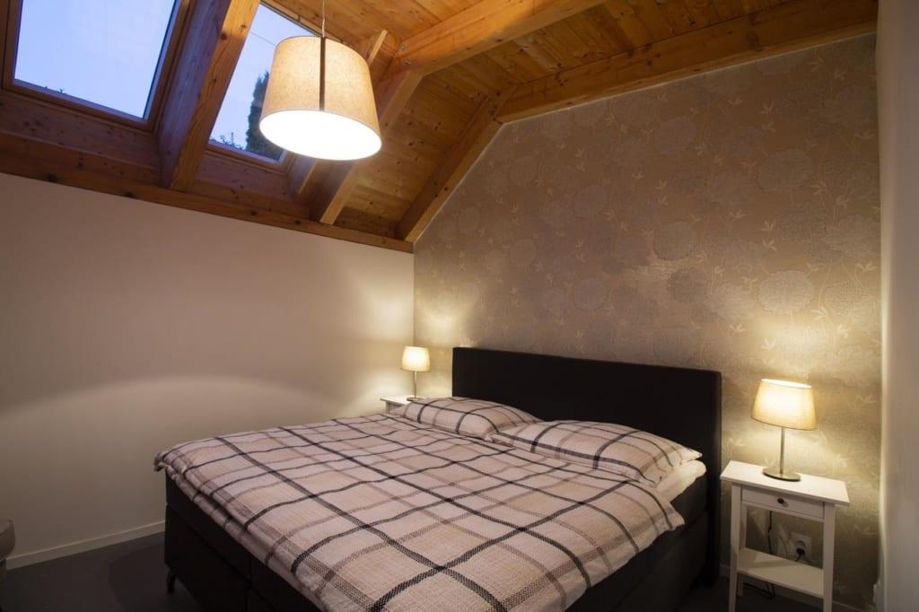 Interiér pokoje v Charming house@LK-living vám jistě zpříjemní dovolenou.