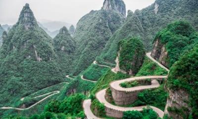 Schody v Číně, v Tainmen