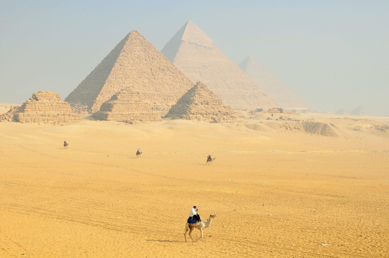 Egypt -pyramidy