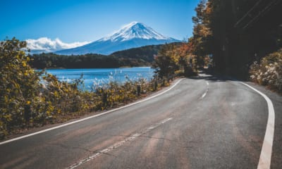 Road trip v Japonsku, výhled na Fudži
