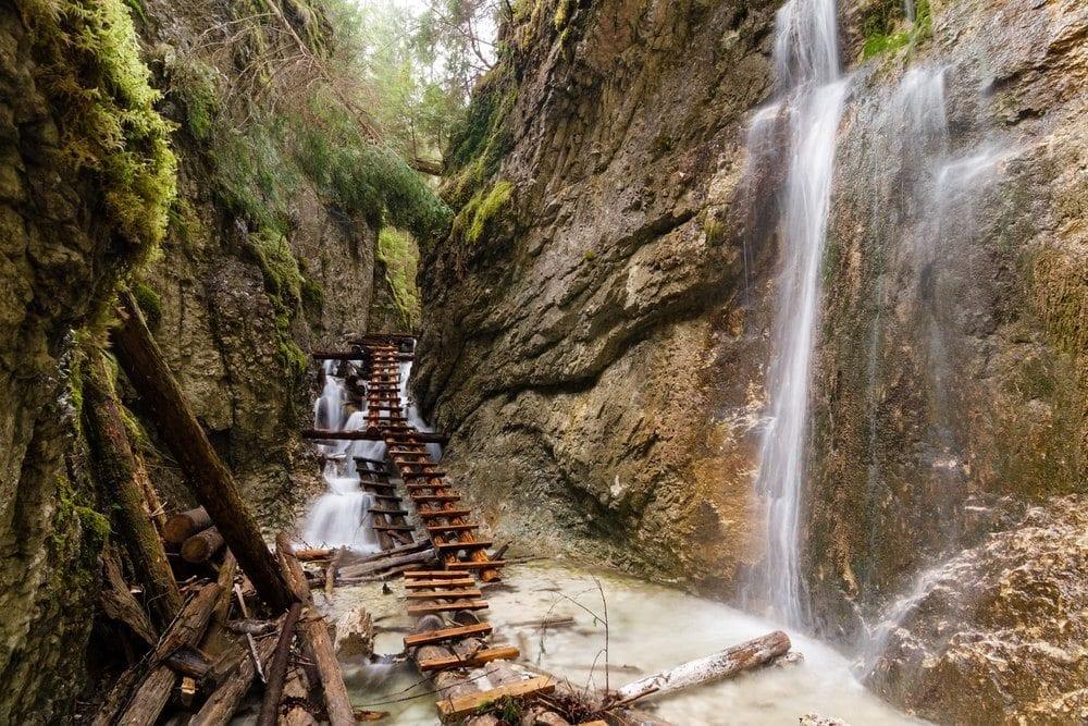 Slovenský ráj je ideální možností kam na dovolenou pro milovníky hor