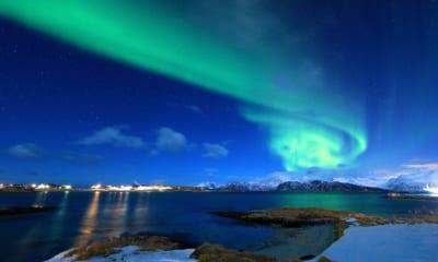 Polární záře, aurora borealis jméno