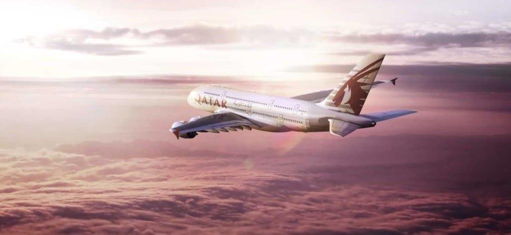 Letadlo Qatar Airways