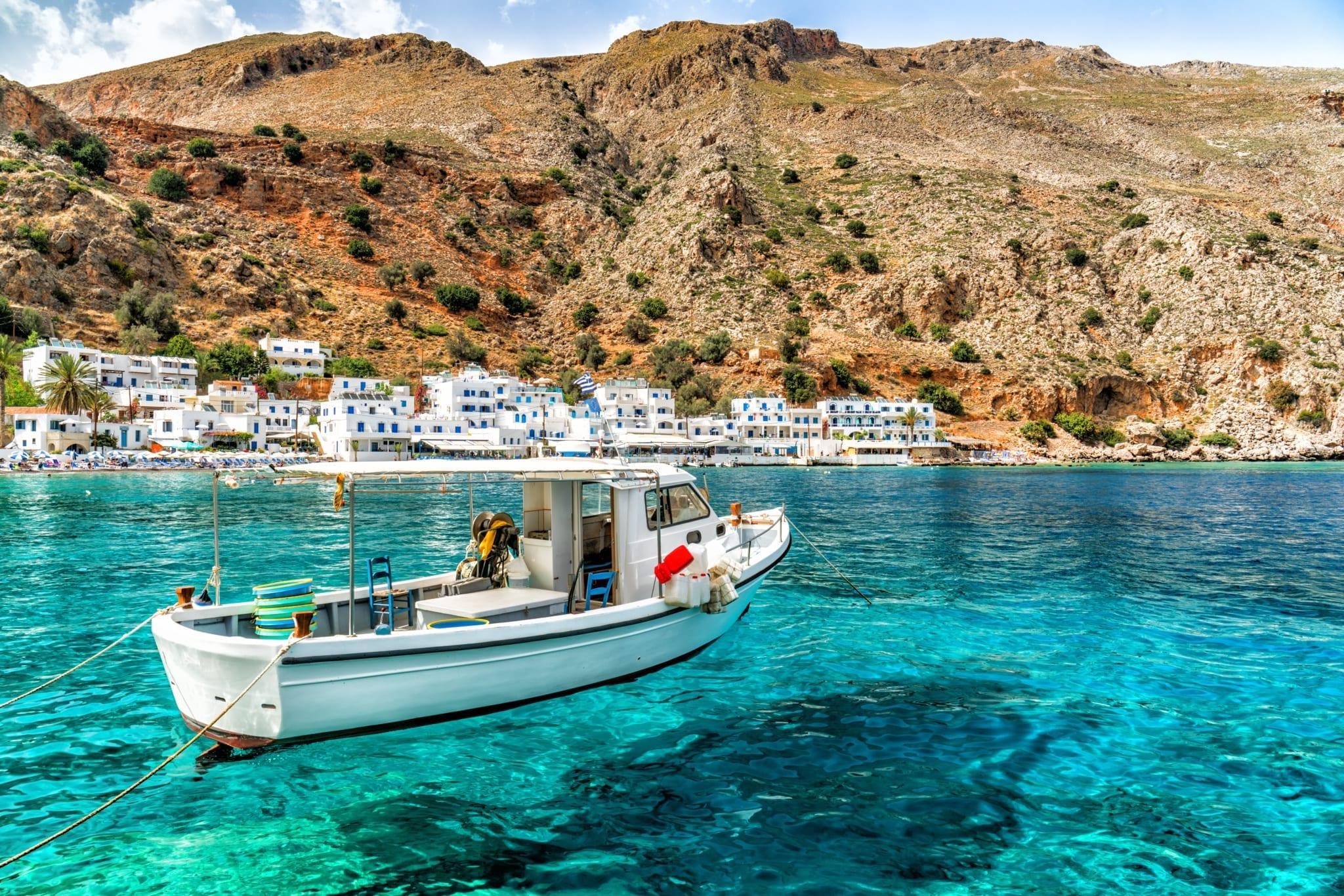 Řecké pláže a moře
