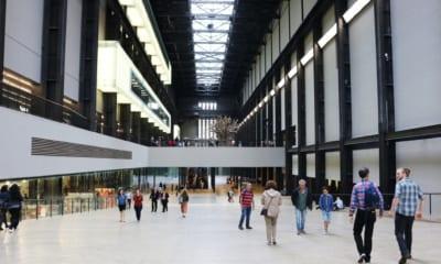 Tate modern, infinity rooms, v Londýně