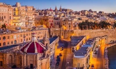 Maltská Valetta