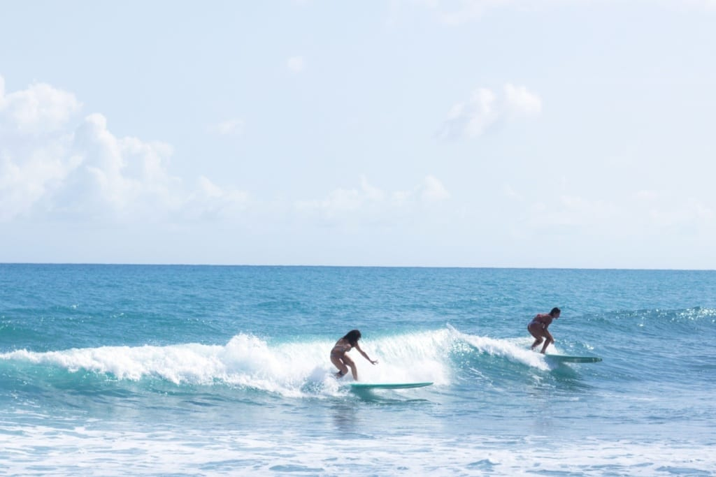 Pláž Playa Los Patos v Dominikánské republice