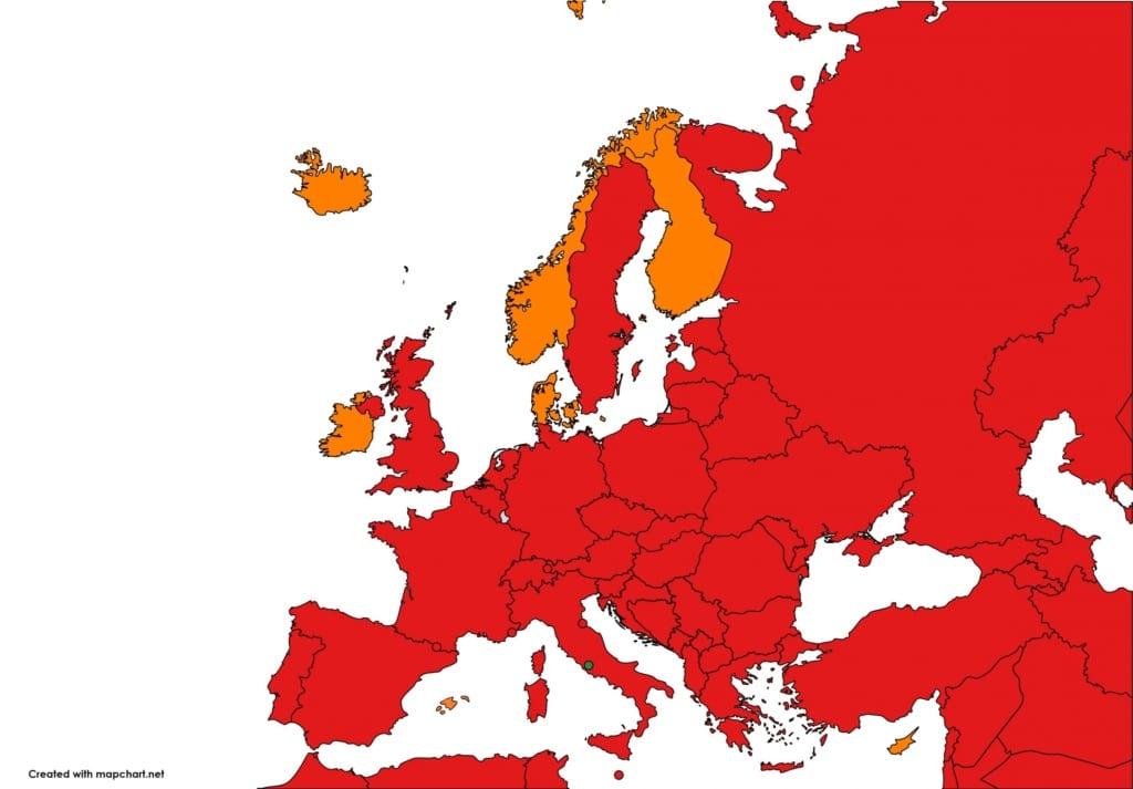 Cestovatelský semafor od 27. listopadu