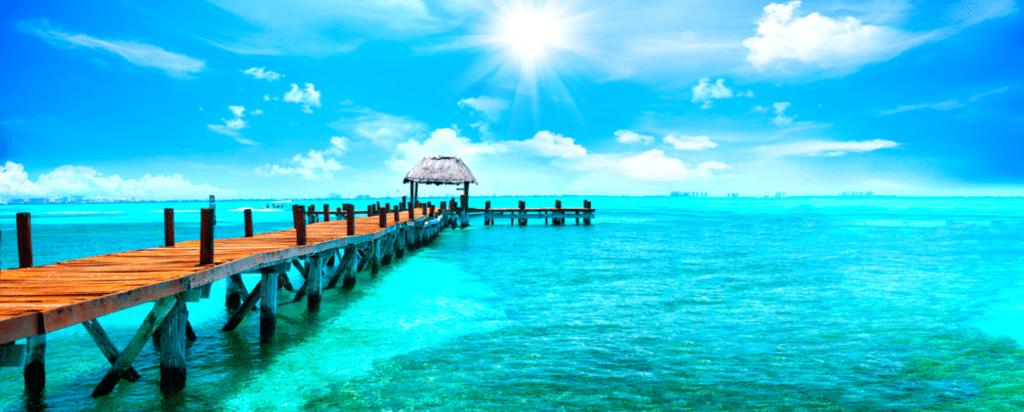 Moře v Cancúnu