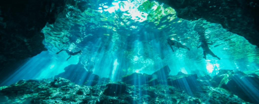 Potápění je v Cancúnu skutečným zážitkem