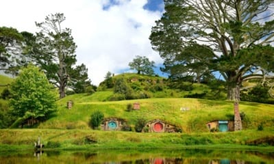 Hobbiton - Nový zéland