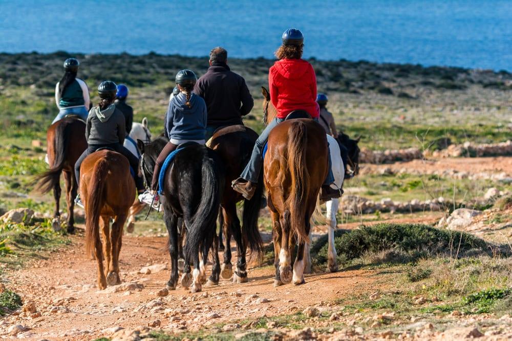 Jízda na koni na Maltě