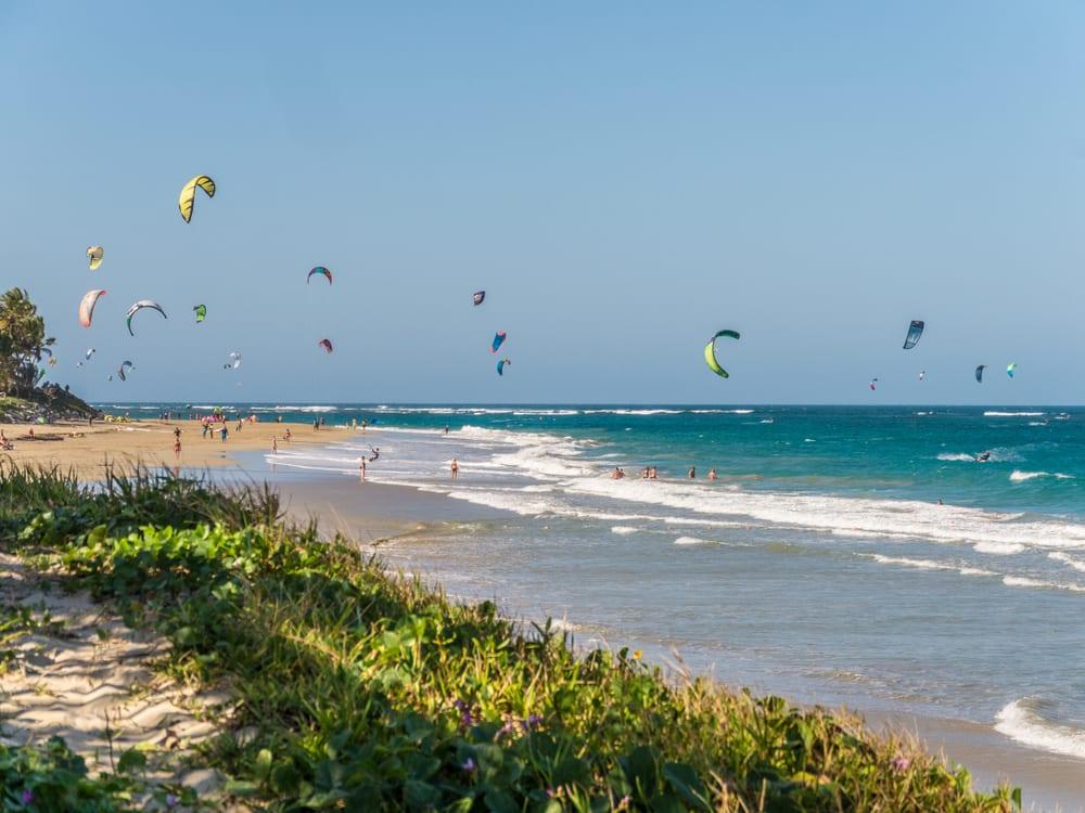 Pláž Kite Beach Dominikánská republika