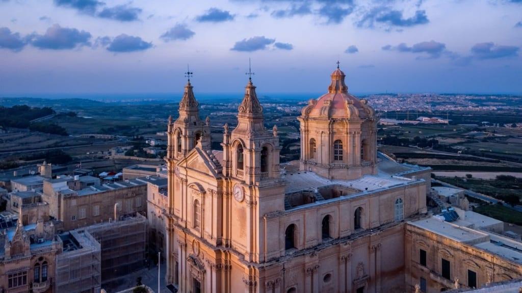 Výhled na Maltu