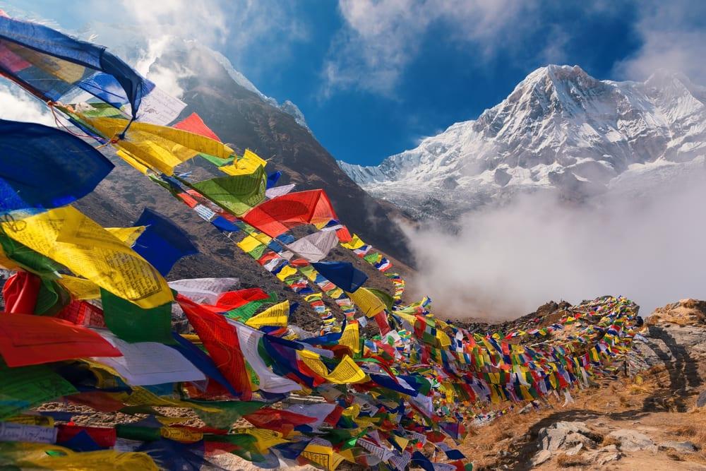 Base camp v Nepálu