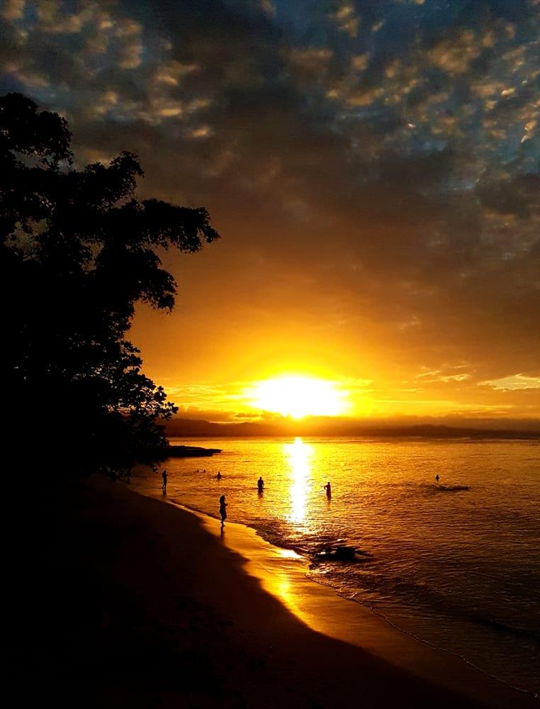 Pláž Playa Los Mino v Dominikánské republice