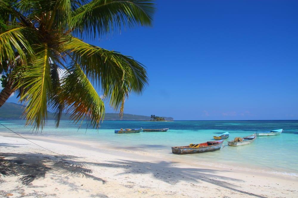 Pláž Playita v Dominikánské republice