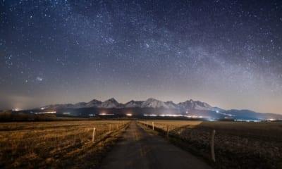 Tatry v noci
