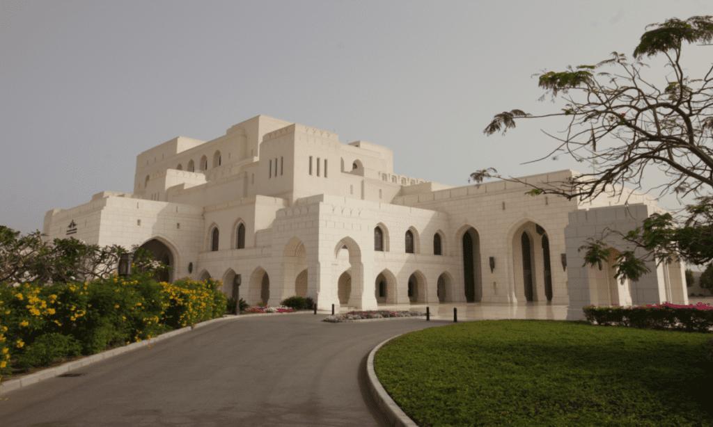 Opera house v Ománu
