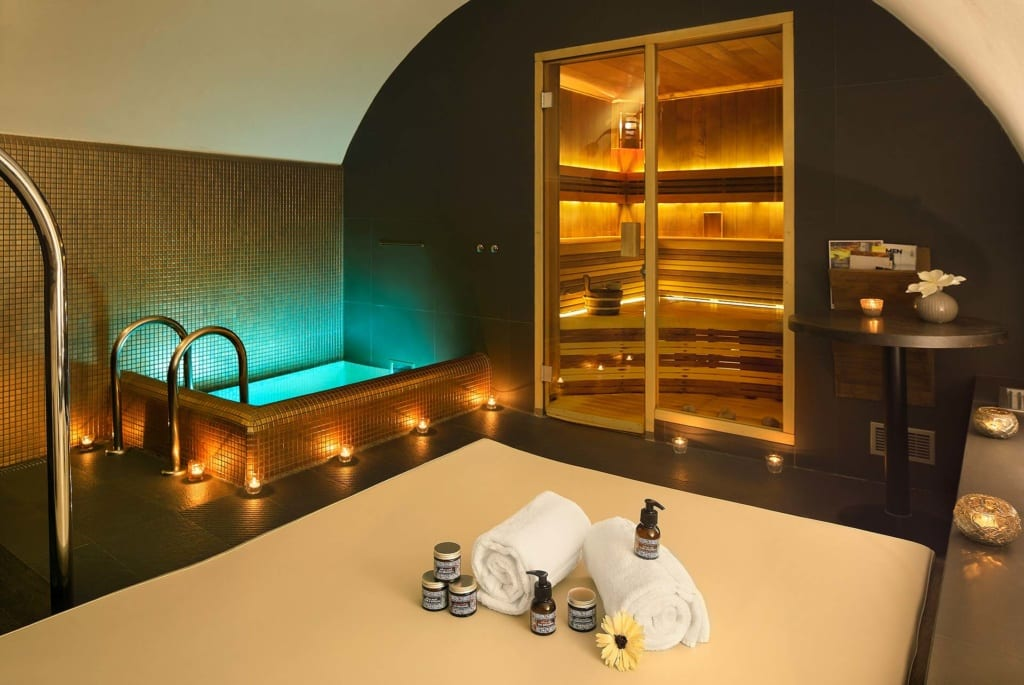 Wellness v hotelu Chateau St. Havel