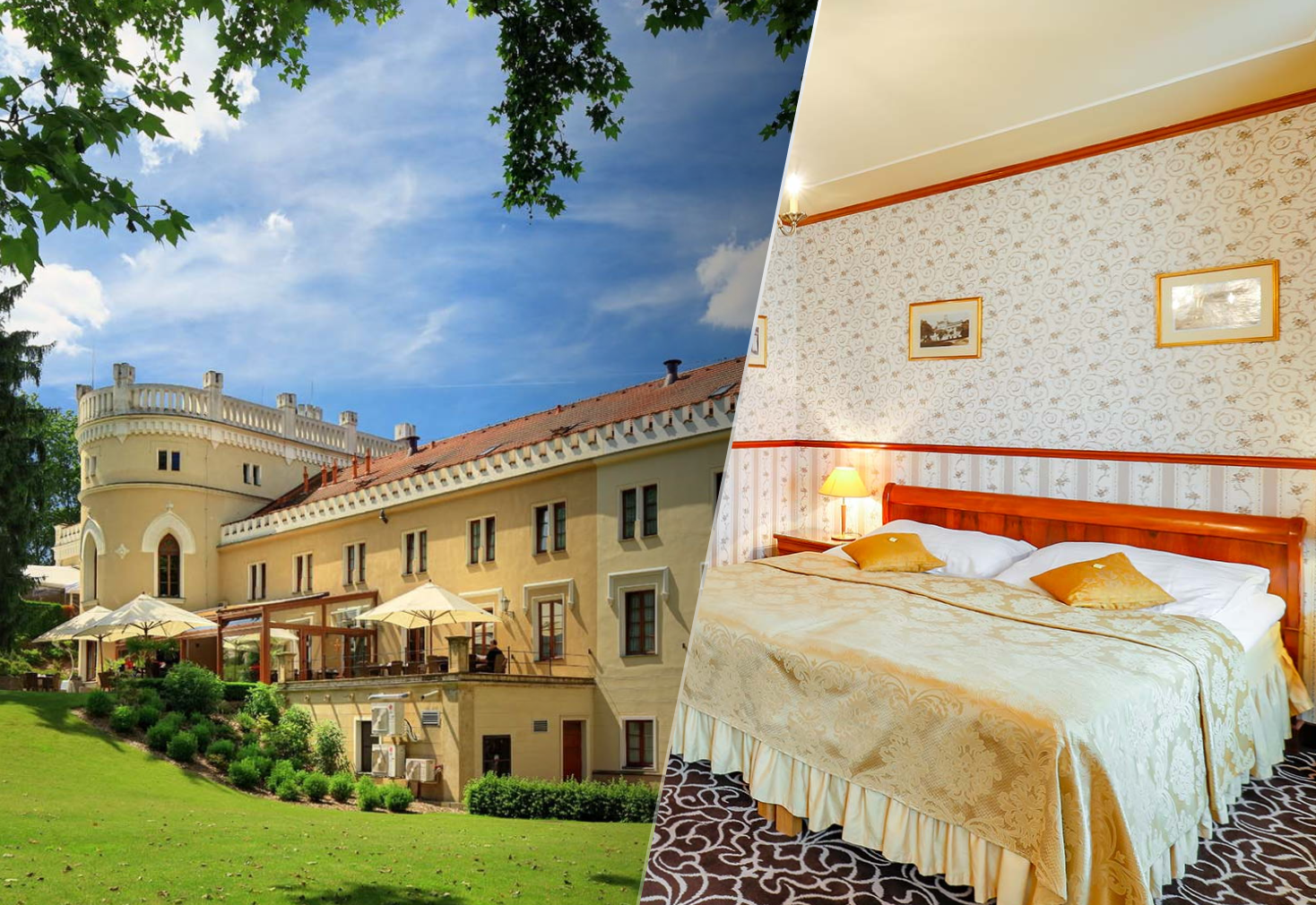 Dovolená v hotelu Chateau St. Havel