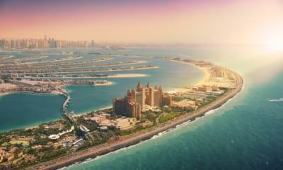 The Palm Jumeirah v Dubaji
