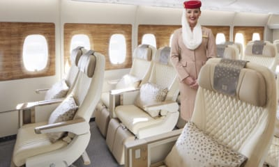 Nová kabina premium economy Emirates