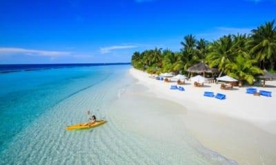 Dovolená na Maledivách s plnou penzí v 5* hotelu