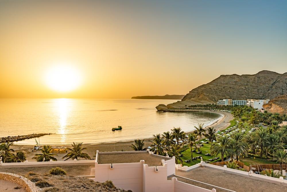 Ománská pláž