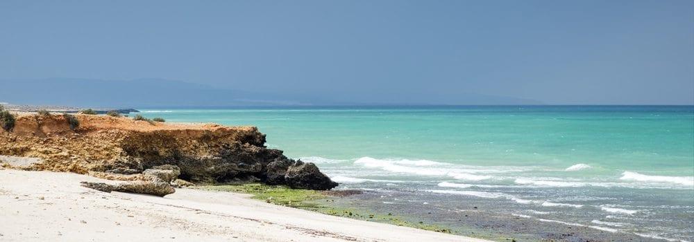 Panorama ománského moře