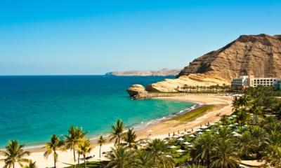 Ománské pláže