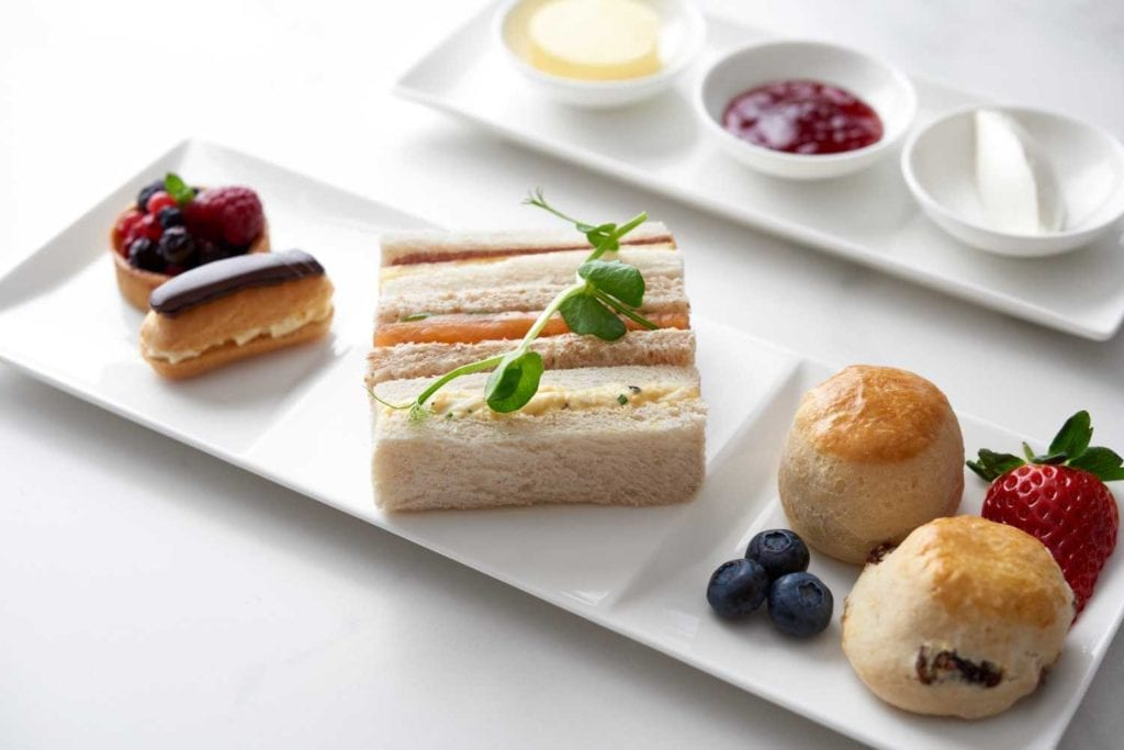 Business menu v Qatar Airways