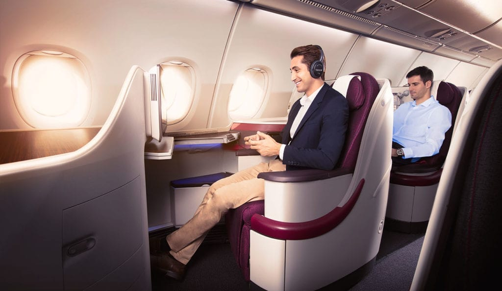 Qatar Airways wifi