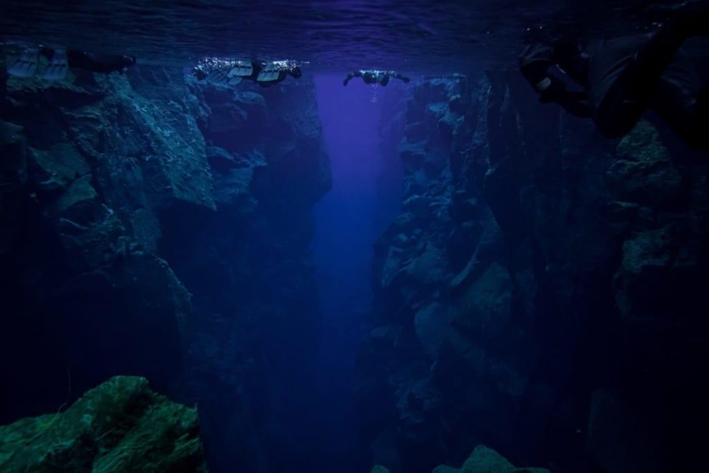 Šnorchlování na Islandu