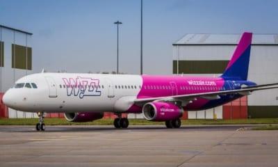 Letadlo Wizz Air Abu Dhabi
