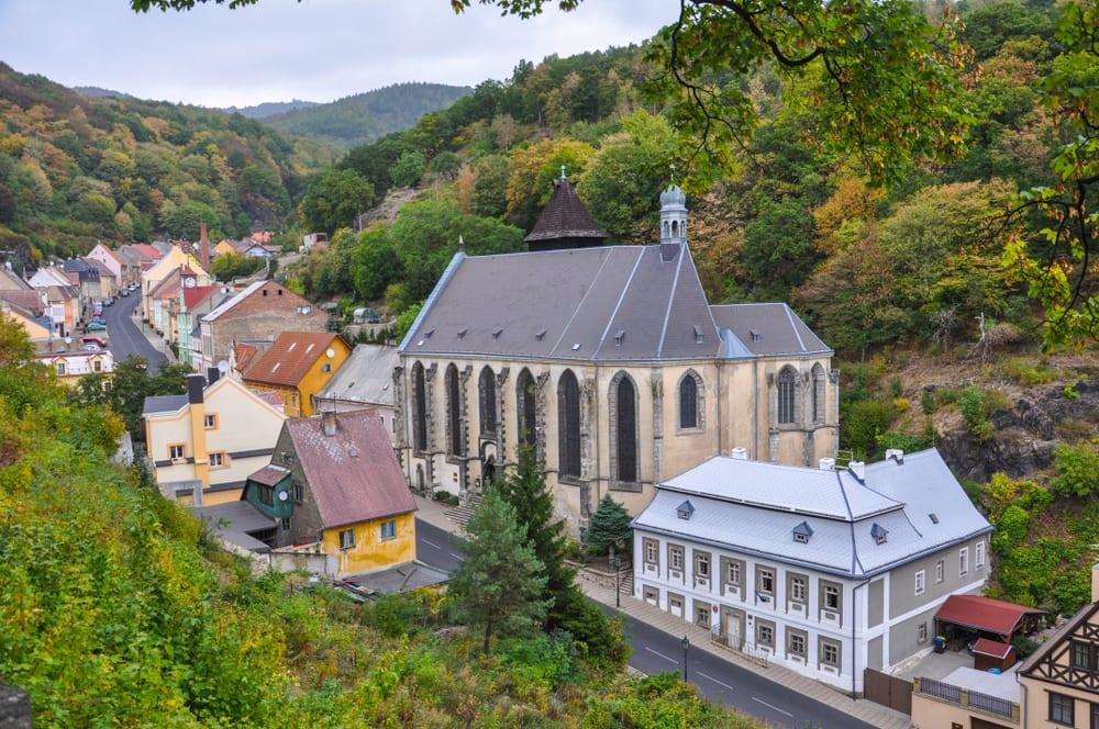 Hornický areál v Krušnohoří, památky Unesco