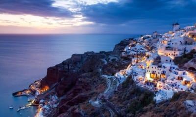 Řecké Santorini, cestování