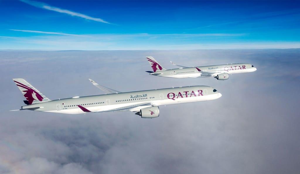 Letadla A380 Qatar Airways