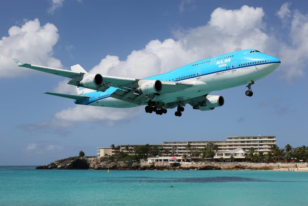 Letadlo KLM Boeing 747