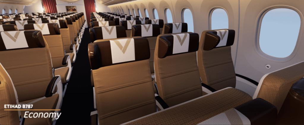 Ekonomická třída Etihad Airways