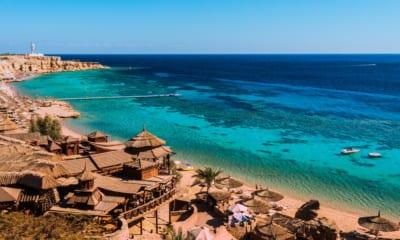 Rudé moře v Egyptě