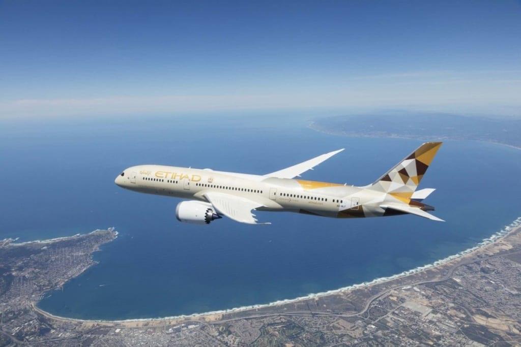 Etihad Airways, letadlo